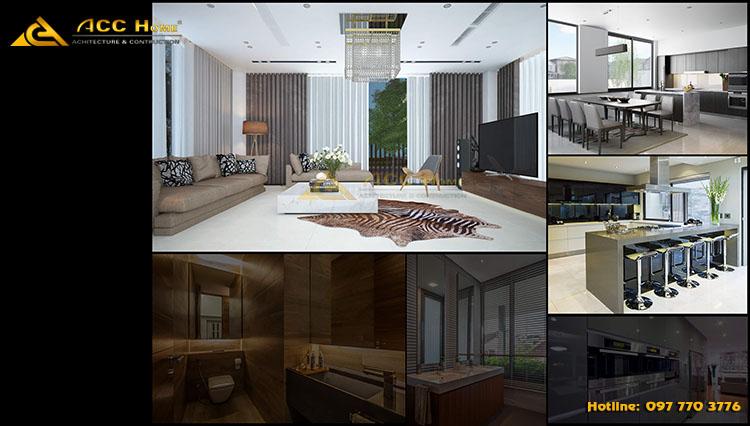 Thiết kế biệt thự 3 tầng đẹp Quận 1 Thành phố Hồ Chí Minh