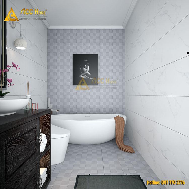 Thiết kế nhà chung cư 2 phòng ngủ nhà anh Trần Đại Nghĩa Quận 3