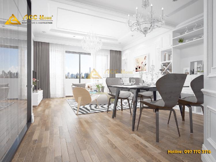 Thiết kế nội thất chung cư tân cổ điển tại thành phố Hồ Chí Minh