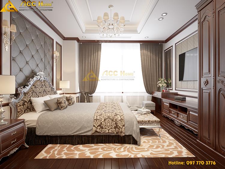 thiết kế không gian phòng ngru Master