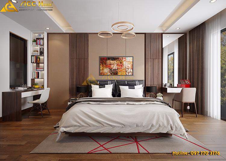 thiết kế nội thất phòng Master