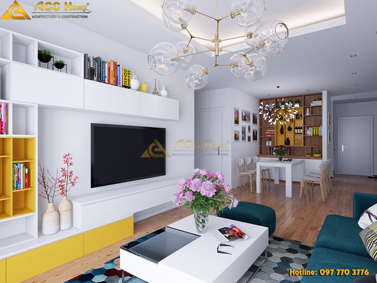 thiết kế nội thất nhà phố 94m2