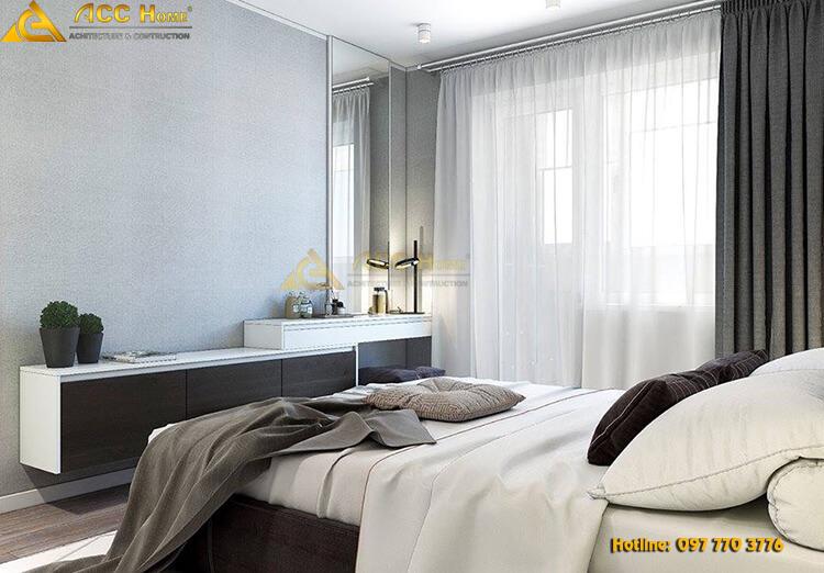 thiết kế nội thất căn hộ 90m2