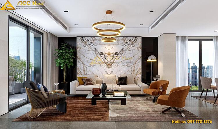 thiết kế nội thất nhà phố 80m2