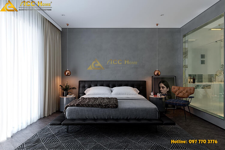 thiết kế phòng ngủ Master