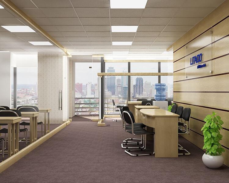 nội thất văn phòng tư nhân