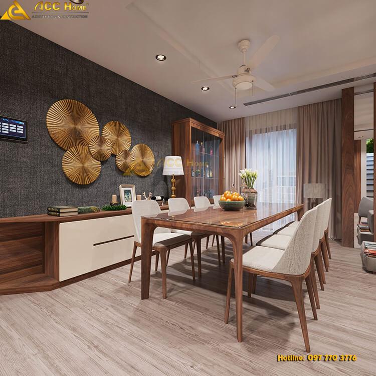 không gian nhà ăn
