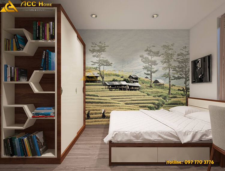 phòng ngủ nhiều công năng