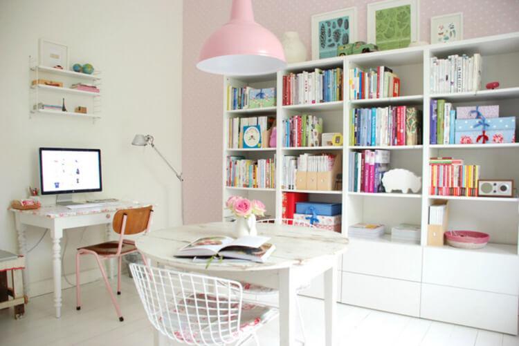 phòng làm việc cho con gái