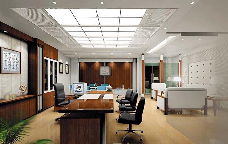 ý tưởng chọn nội thất văn phòng 80m2