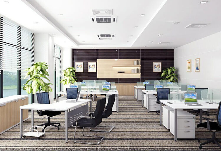 văn phòng diện tích 80m2