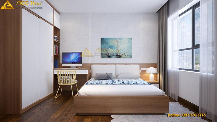không gian phòng ngủ của con