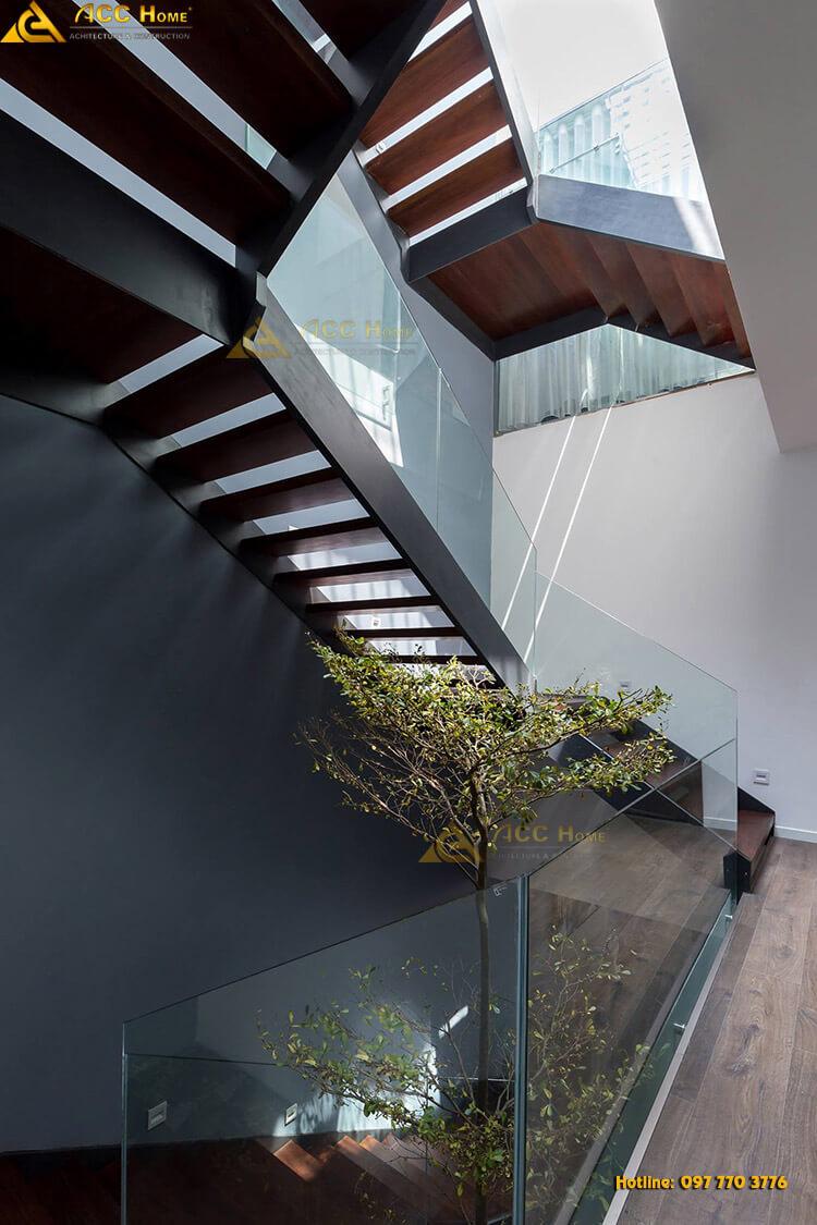 cầu thang liên tầng