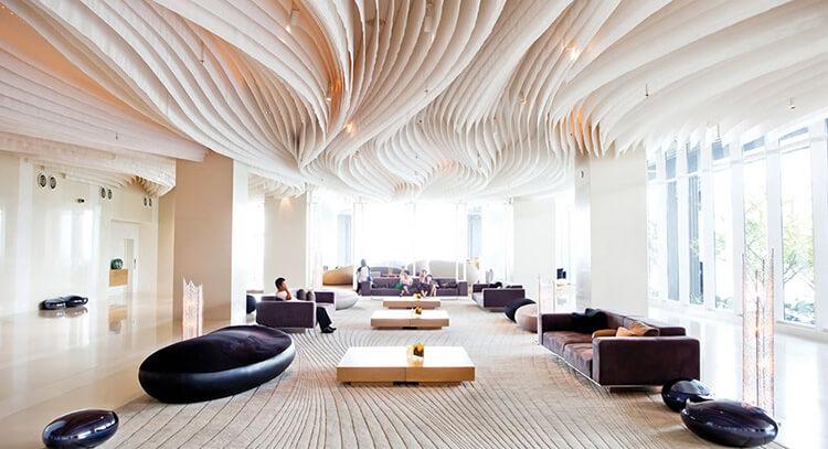 Những lưu ý trong việc thiết kế nội thất khách sạn