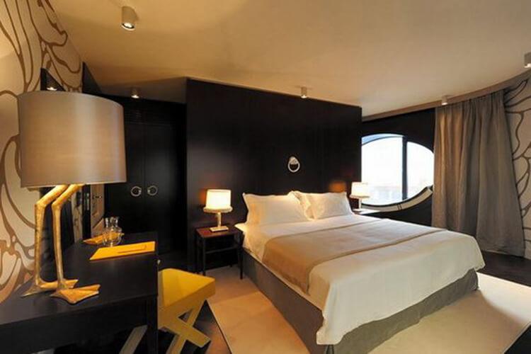 phòng ngủ khách sạn mini