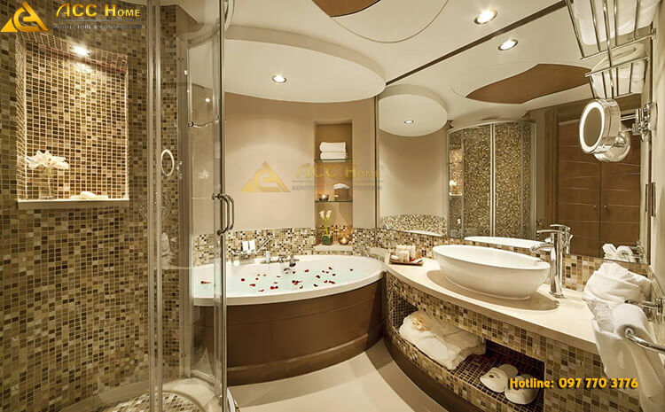 thiết kế bồn tắm