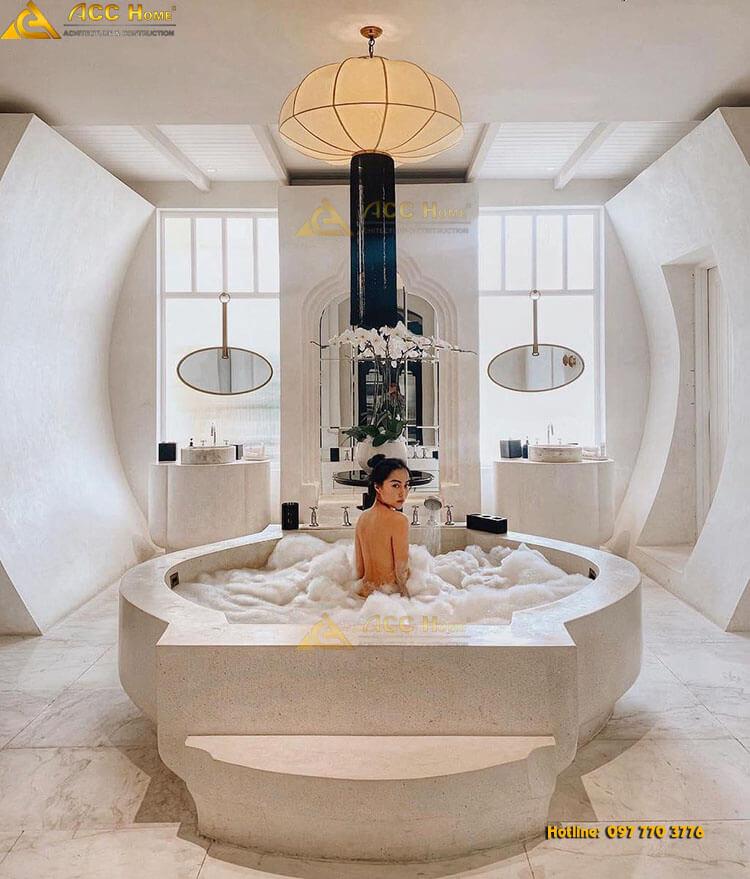 bồn tắm lớn tại nhà