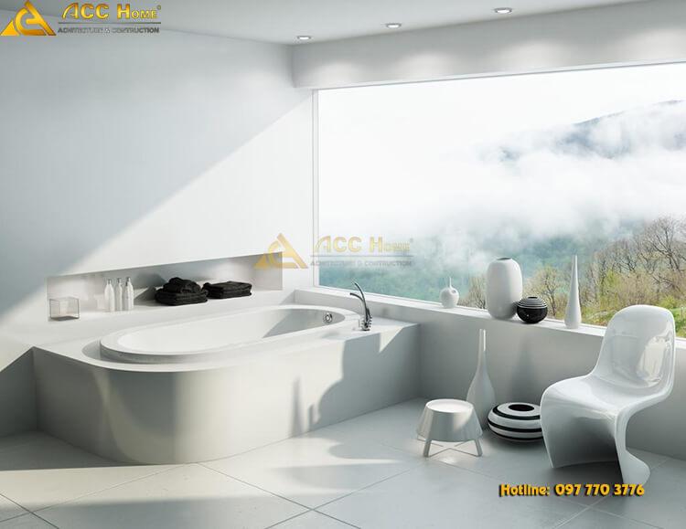 mẫu bồn tắm ngày nay