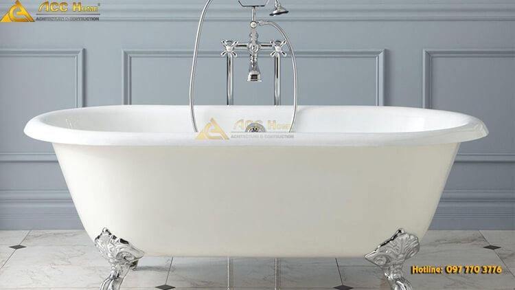 bồn tắm đơn giản