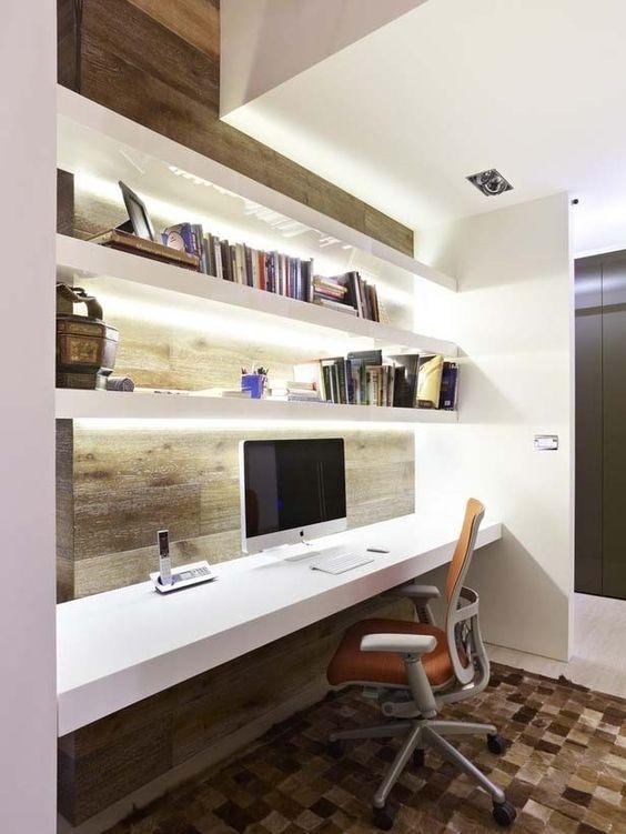 Ý tưởng design bàn làm việc dù ko gian chỉ vài mét vuông - Acc Home (1)