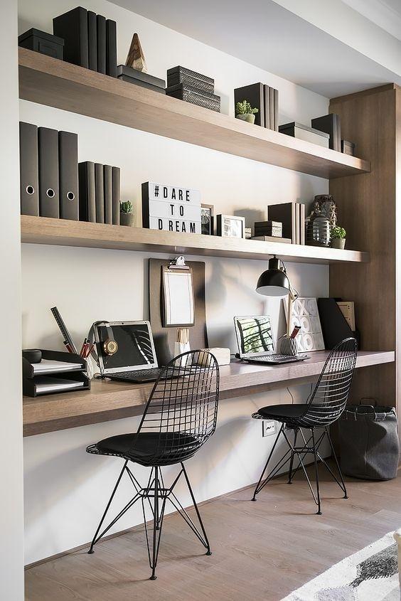 Ý tưởng design bàn làm việc dù ko gian chỉ vài mét vuông - Acc Home (2)