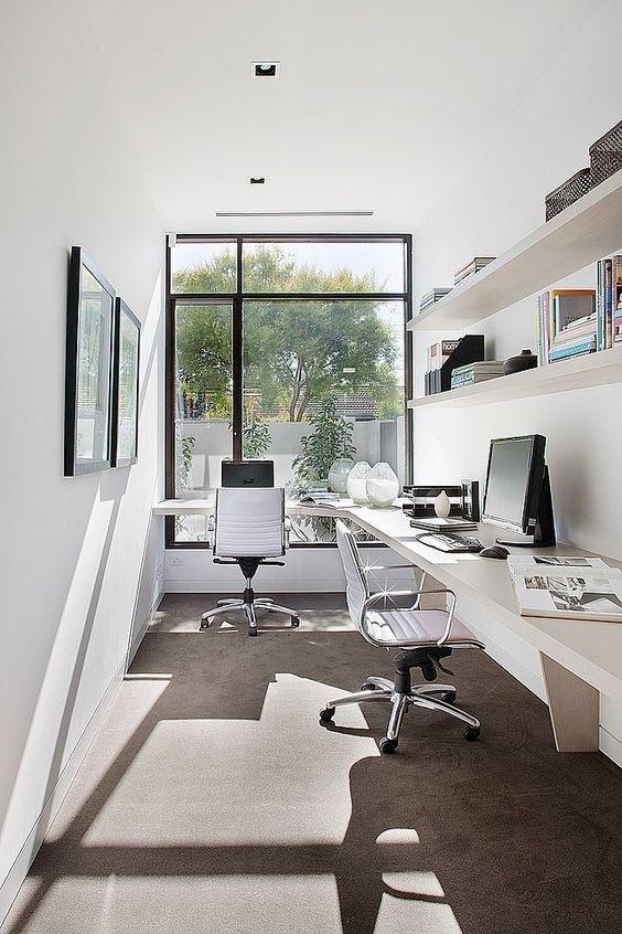 Ý tưởng design bàn làm việc dù ko gian chỉ vài mét vuông - Acc Home (3)
