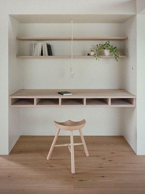 Ý tưởng design bàn làm việc dù ko gian chỉ vài mét vuông - Acc Home (7)