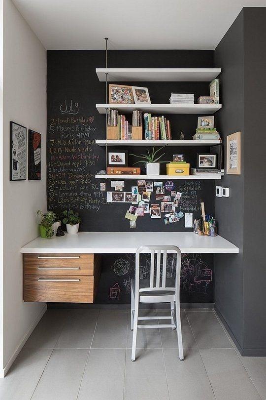 Ý tưởng design bàn làm việc dù ko gian chỉ vài mét vuông - Acc Home (8)