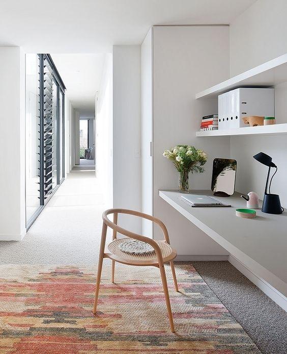 Ý tưởng design bàn làm việc dù ko gian chỉ vài mét vuông - Acc Home (9)