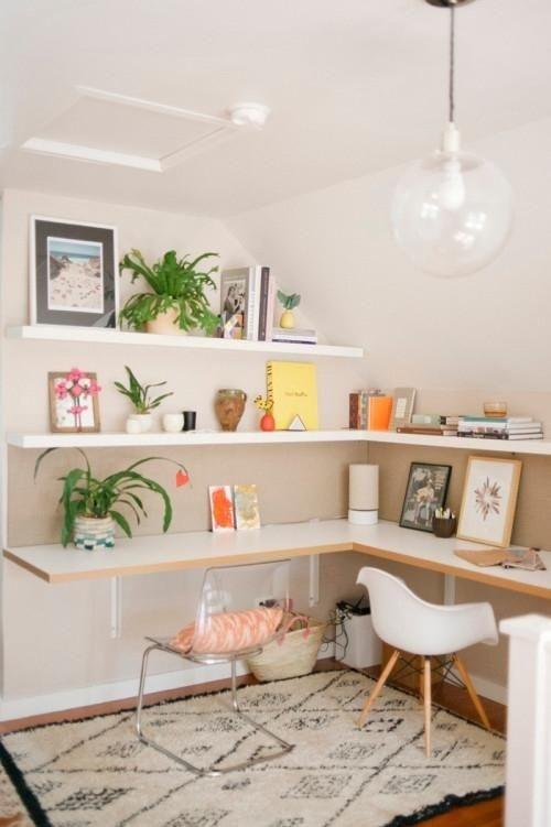 Ý tưởng design bàn làm việc dù ko gian chỉ vài mét vuông - Acc Home (10)