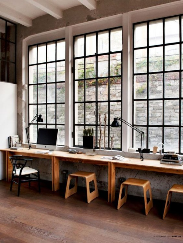 Mê mẩn những góc làm việc đẹp lung linh bên cửa sổ - Acc Home (1)
