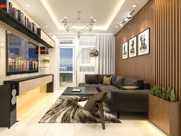 chung cư Phong cách trong lành kiểu Singapore