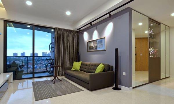 chung cư Phong cách trong lành kiểu Singapore 3
