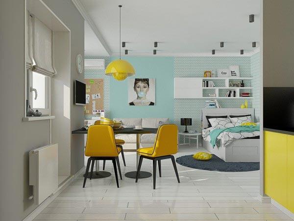 design chung cư với khoảng trống 40m 2 - 50m 2 3