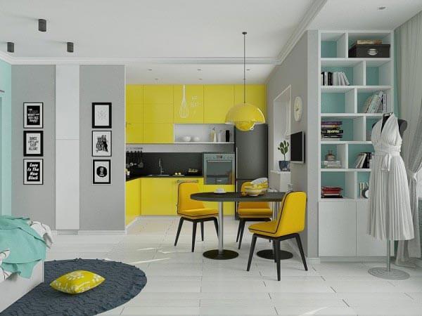 design chung cư với khoảng trống 40m 2 - 50m 2 2