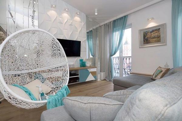 design nội thất chung cư khoảng trống nhỏ 40-55m 2 căn 5 3