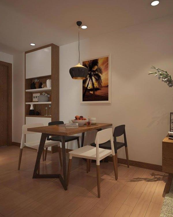 design căn hộ có khoảng trống từ 55m 2 - 60m 2 3