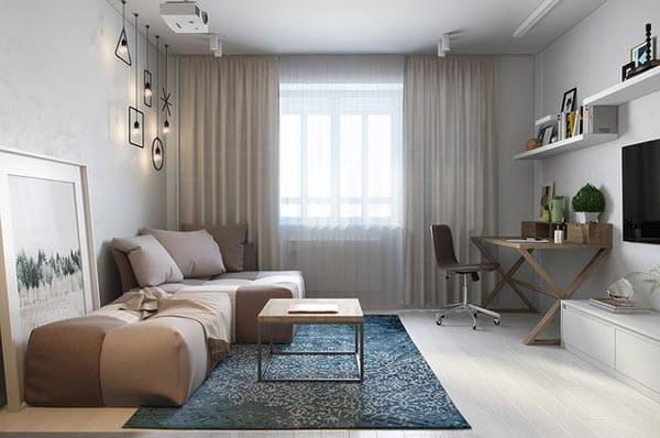 design nội thất chung cư với khoảng trống nhỏ 55-60m 2 2