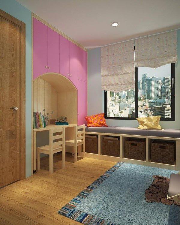design căn hộ có khoảng trống từ 55m 2 - 60m 2 2