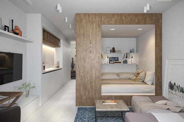 design nội thất chung cư với khoảng trống nhỏ 55-60m 2