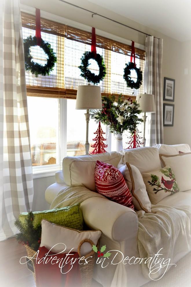 Các ý tưởng hay ho decor cửa sổ mừng Giáng sinh - Acc Home (17)