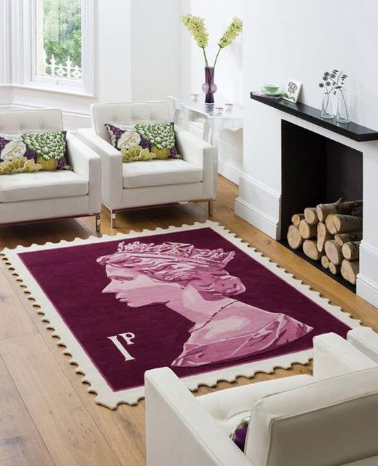 Những mẫu thảm trải sàn phòng tiếp khách độc đáo khó rời mắt - Acc Home (3)