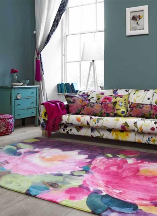 Những mẫu thảm trải sàn phòng tiếp khách độc đáo khó rời mắt - Acc Home (5)