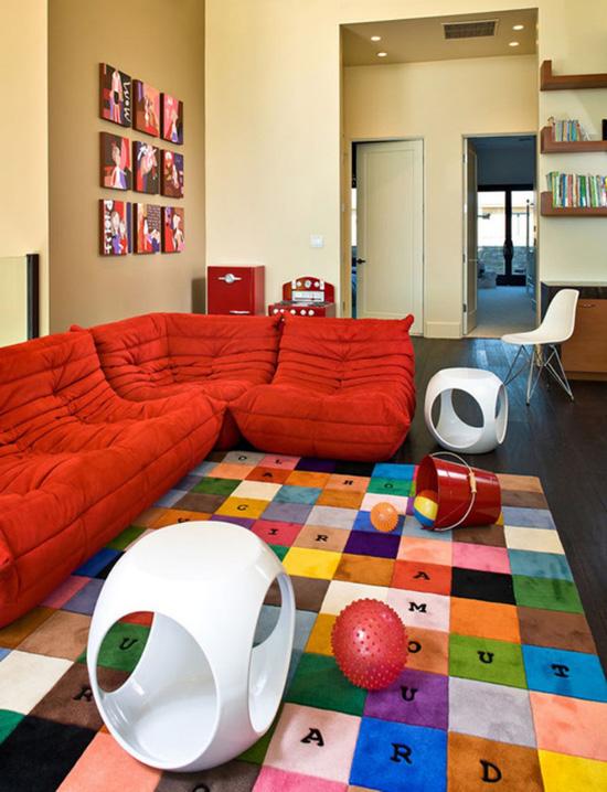 Những mẫu thảm trải sàn phòng tiếp khách độc đáo khó rời mắt - Acc Home (8)