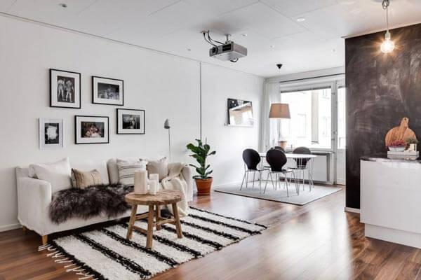 design nội thất chung cư hai phòng master gam màu