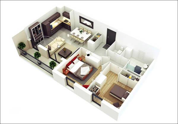 Thiết kế nội thất hiện đại kiểu Hàn Quốc