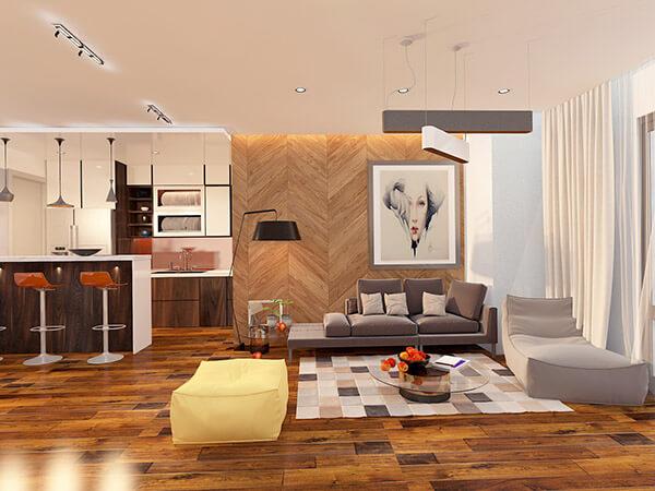 Tối ưu ko gian với nội thất nhỏ xinh