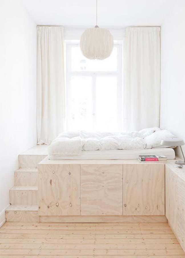 giải pháp sử dụng tông tone sáng cho phòng bedroom nhỏ