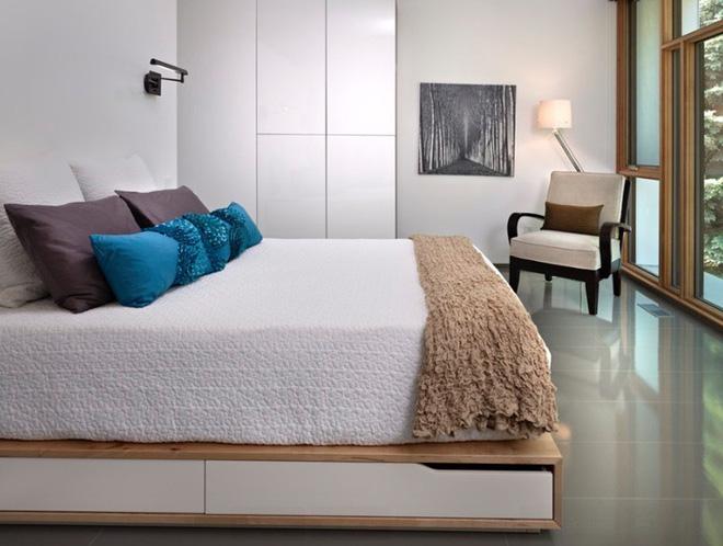 10 tuyệt chiêu giúp ko gian phòng bedroom nhỏ trở nên rộng rãi bất ngờ - Acc Home (6)
