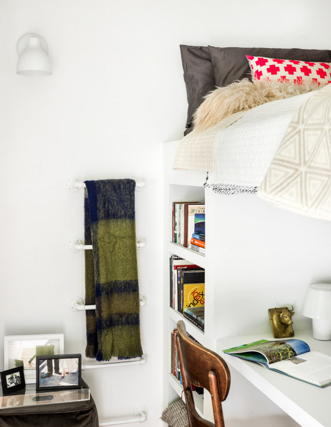 10 tuyệt chiêu giúp ko gian phòng bedroom nhỏ trở nên rộng rãi bất ngờ - Acc Home (7)